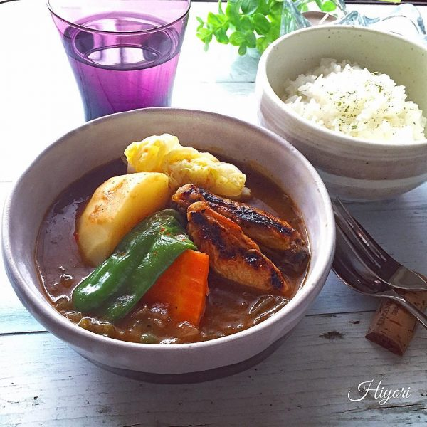 美味しい野菜たっぷりカレースープ