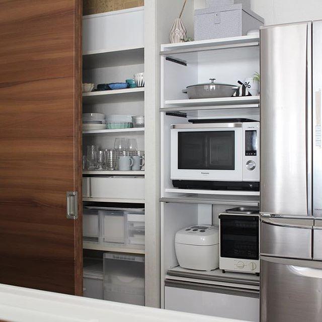 炊飯器の置き場4