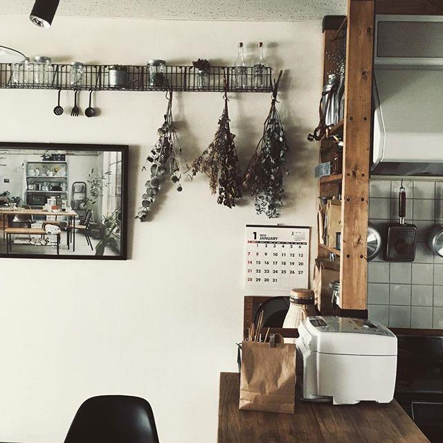 炊飯器の置き場10