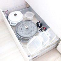 システムキッチンをもっと使いやすくしよう!今すぐ真似したい収納アイデア