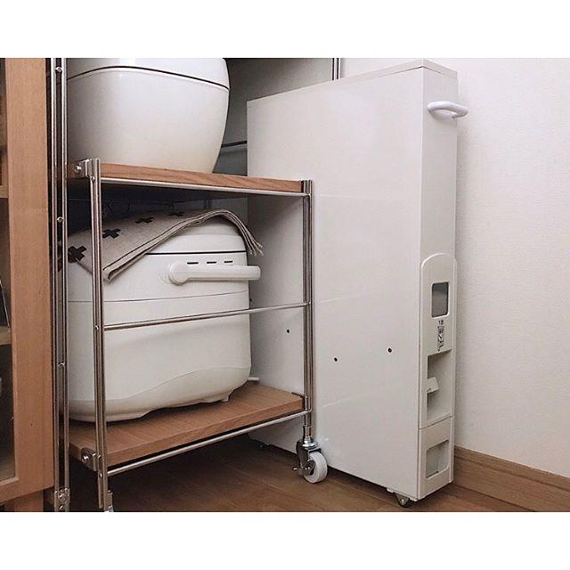 炊飯器の置き場15