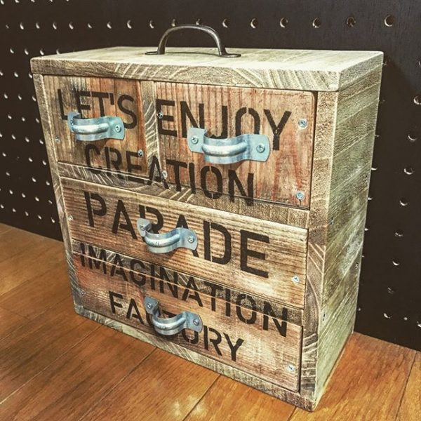 作ってしまえば理想の手芸用品収納ボックス