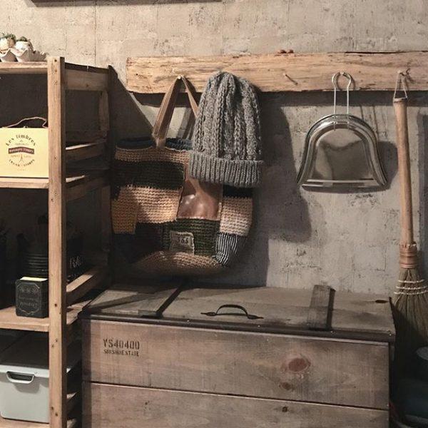 お気に入りの定位置を作れるニット帽収納