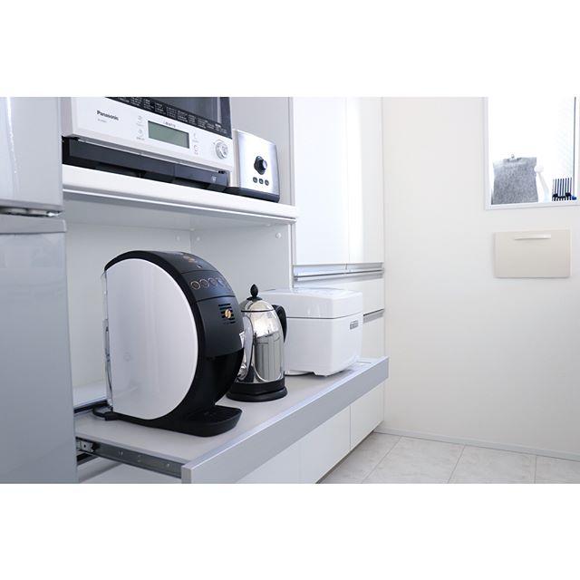 炊飯器の置き場14