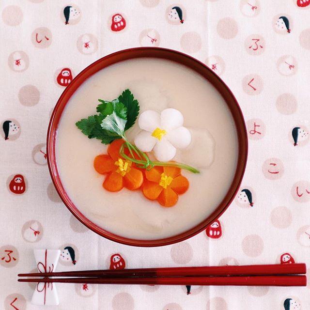 関西では定番!簡単で美味しい白味噌のお雑煮