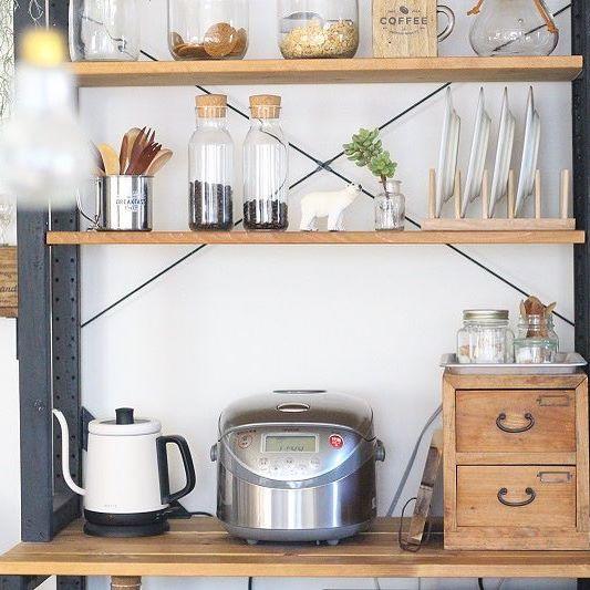 炊飯器の置き場5