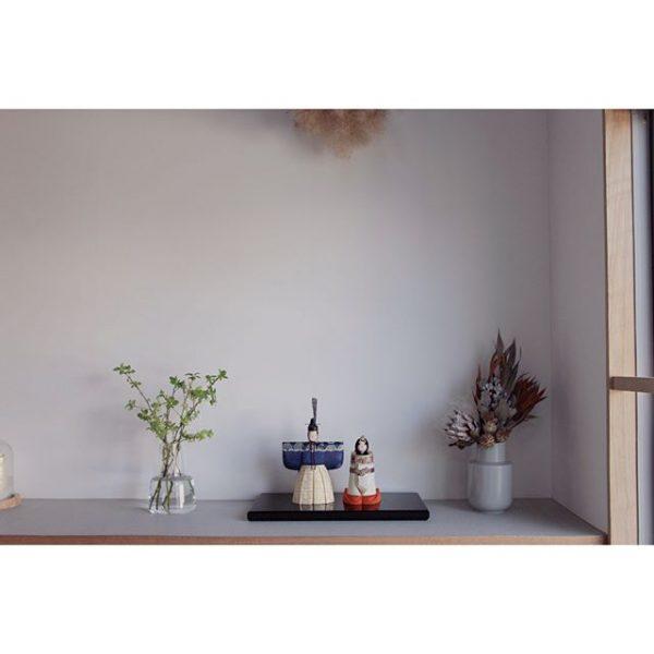 立雛でシンプルな玄関にする飾り方