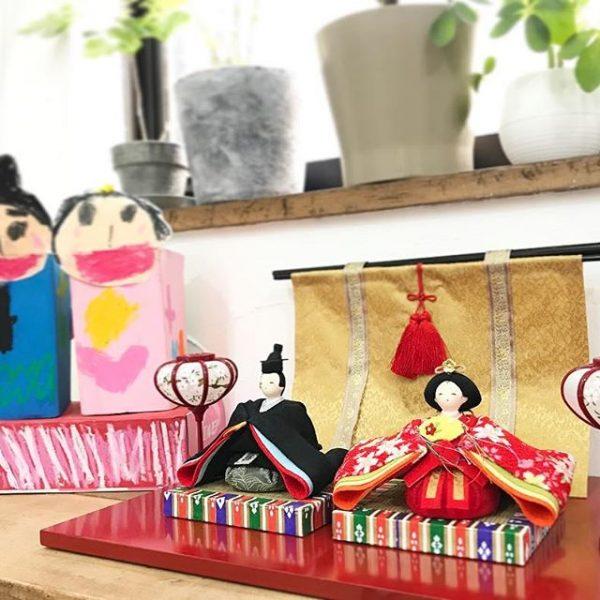 小さなサイズの雛人形の飾り方