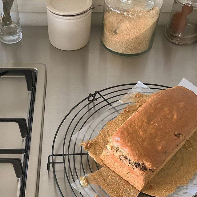 美味しい!スパイスの大豆粉パウンドケーキ