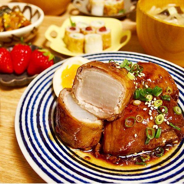 人気の具材!角煮風大根の美味しい豚肉巻き