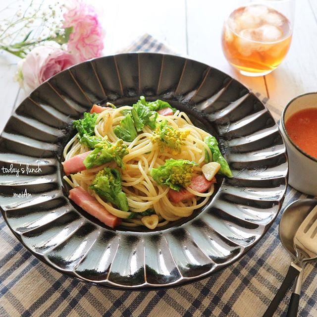 3月におすすめ!菜の花のペペロンチーノ