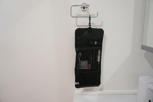 無印グッズを使ったクローゼットの吊り下げ収納8