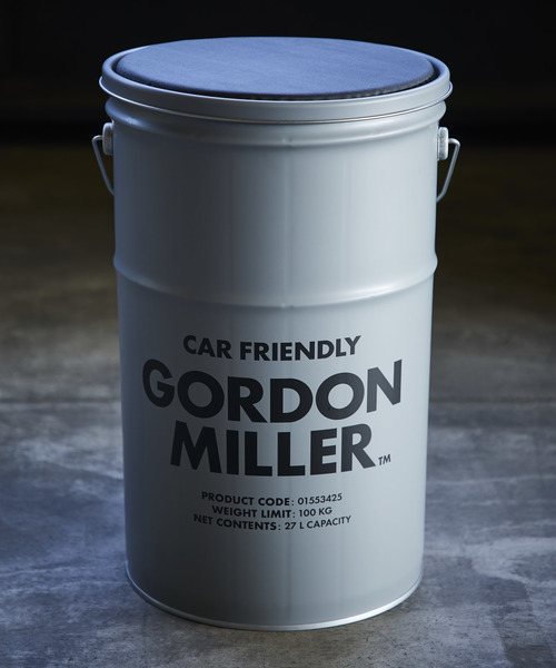 GORDON MILLER ペール缶 収納型スツール 27L