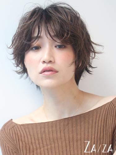 求心顔 髪型 ショート3