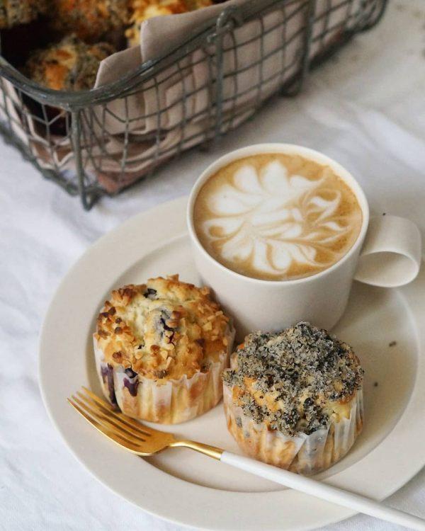 朝ごはんにおすすめの小麦粉料理のマフィン