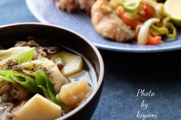 おすすめ郷土料理レシピ♪芋煮汁