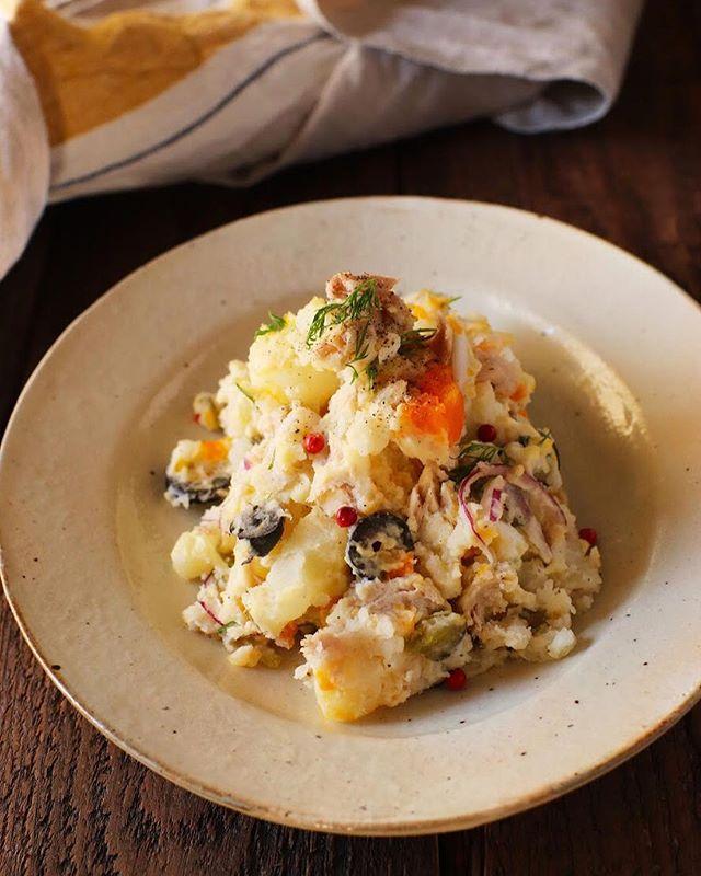 ランチに夕飯!便利な卵入りポテトサラダ