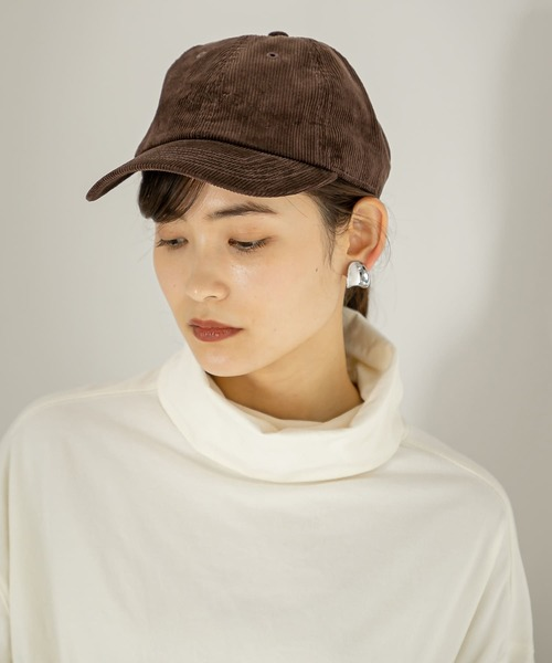 [SENSE OF PLACE by URBAN RESEARCH] NEWHATTAN コーデュロイキャップ