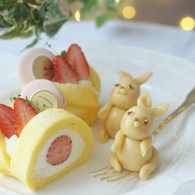 もちっとした美味しい米粉のロールケーキ