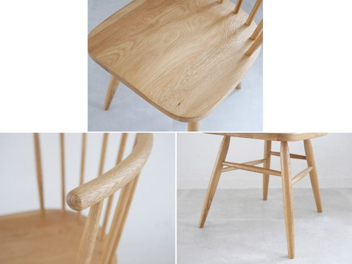無垢材の椅子4