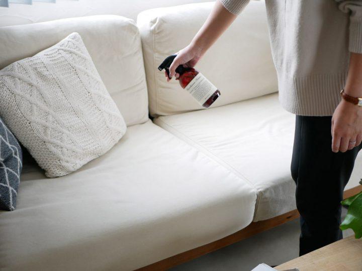 床・フローリング用洗剤」と「家具・ソファ・窓ガラス用洗剤」4