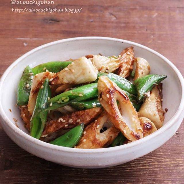 和食の一品におすすめ「ちくわと青野菜炒め」