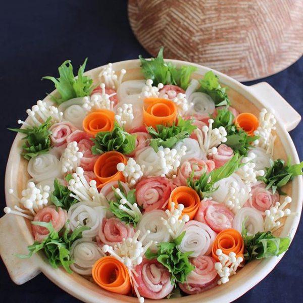 お肉もたっぷり!花畑鍋パート2
