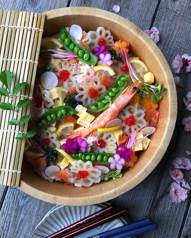 ひな祭りの定番メニュー!人気のちらし寿司