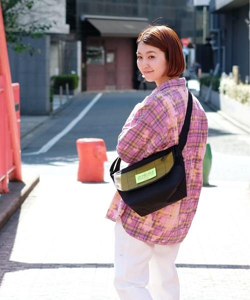 [SAC'S BAR Jean] 【X-girl /エックスガール】X-girl × Manhattan Portage Casual Messenger Bag JR