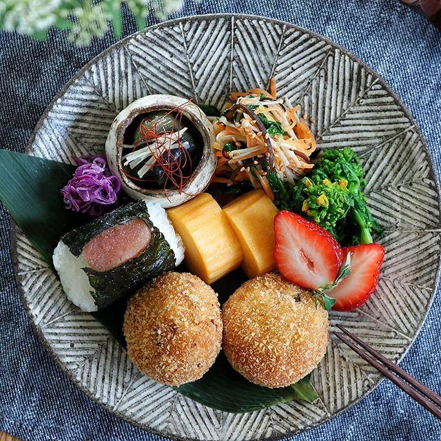 春キャベツとツナの豆腐コロッケ
