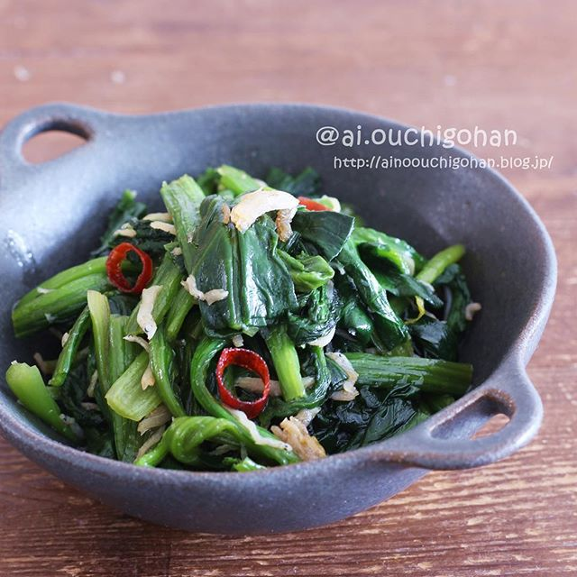 ほうれん草の中華レシピ2