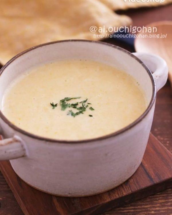 バランスメニューにぴったり♪コーンスープ