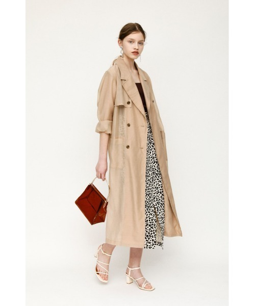 SLY] SHEER TRENCH コート