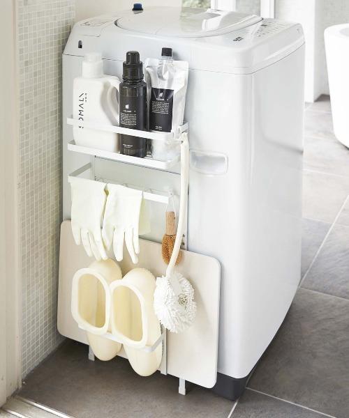 [TAKA-Q] tower 洗濯機横 マグネットラック