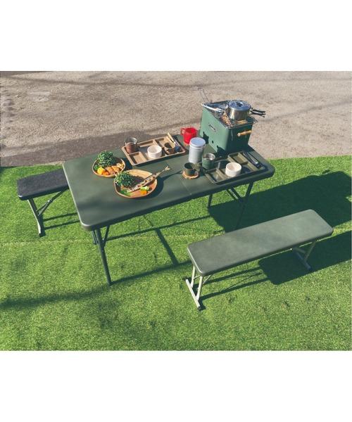 ▽SLOWER/ スロウワー FOLDING TABLE Foster/フォールディングテーブル フォスター/折り畳みテーブルSLW211/SLW212