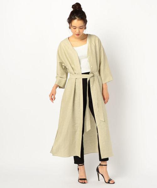 出典:zozo.jp [NOLLEY'S] カールマイヤー羽織ワンピース