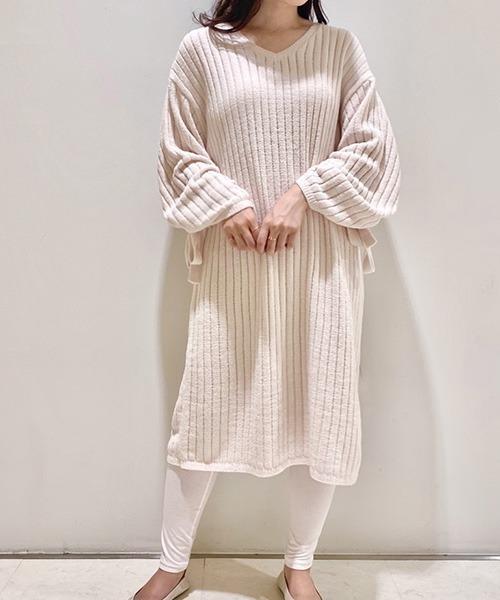 [gelato pique] 'エアリーモコ'ドレス