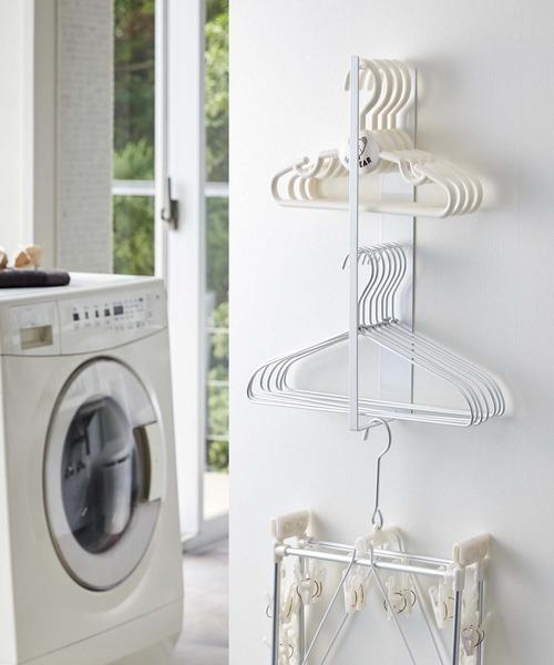 [CIAOPANIC TYPY] 【tower/タワー】マグネット洗濯ハンガー収納ラック 3623