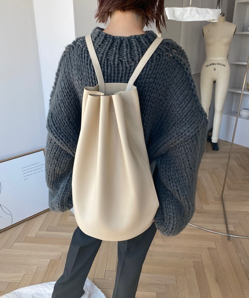 【chuclla】【2020/AW】2way bucket-gather bag cha182
