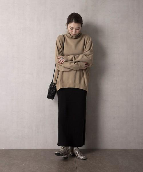 [FREAK'S STORE] 【WEB限定】ラップニットスカート(巻きスカート)15