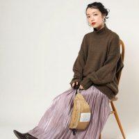 寒い季節こそ着たい服♡ロング丈のスカートで楽しむ冬コーデ15選