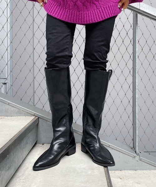 [PAGEBOY] モードミドルブーツ(ロングブーツ)
