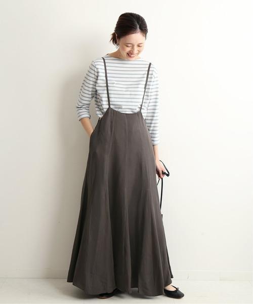 [IENA] キャミサロペットスカート