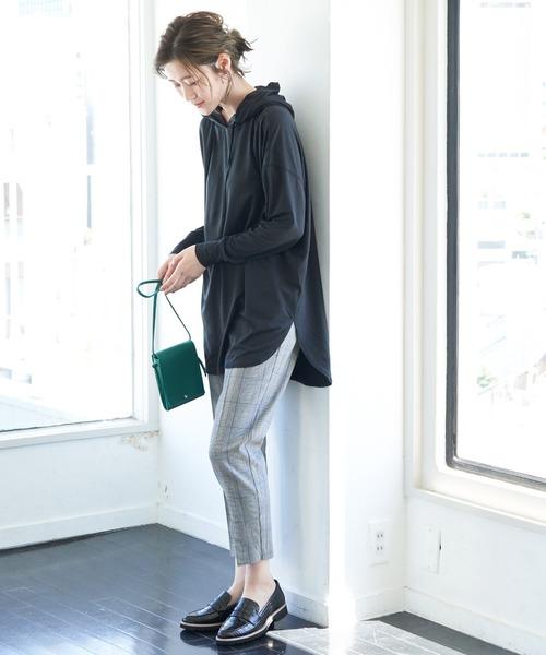 [ROPE' PICNIC] 【essential wear】【吸水速乾・抗菌加工】チュニックフーディートップス