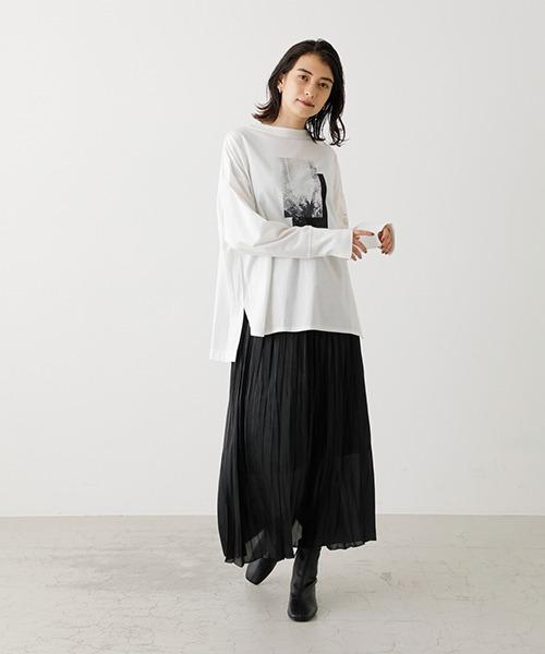[AZUL BY MOUSSY] SHINY PLEATS SKIRT/シャイニープリーツスカート41