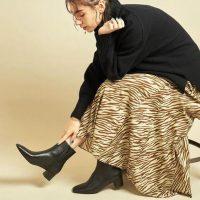 使い勝手優秀なショートブーツスタイル!「冬の足元問題」をすっきり解消