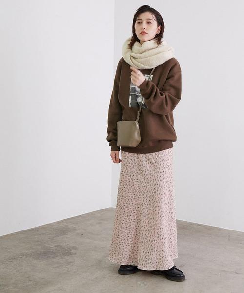 ヴィンテージライクフラワーマーメイドスカート