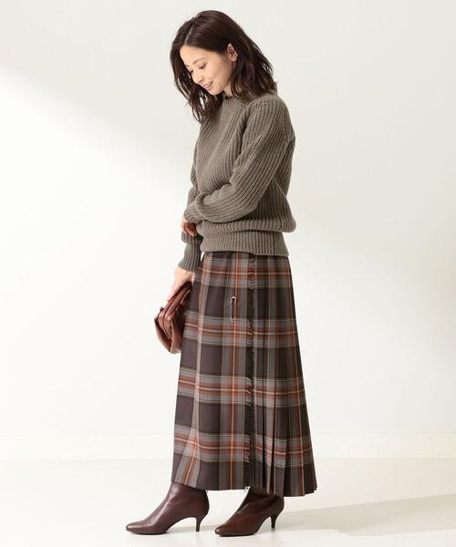 [BEAMS WOMEN] O'NEIL OF DUBLIN / MOYNALTY ロング キルトスカート2