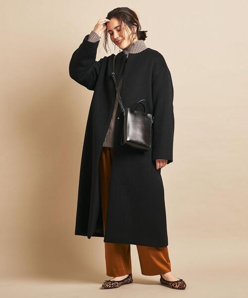[BEAUTY&YOUTH UNITED ARROWS] BY∴ ビーバーノーカラーロングコート