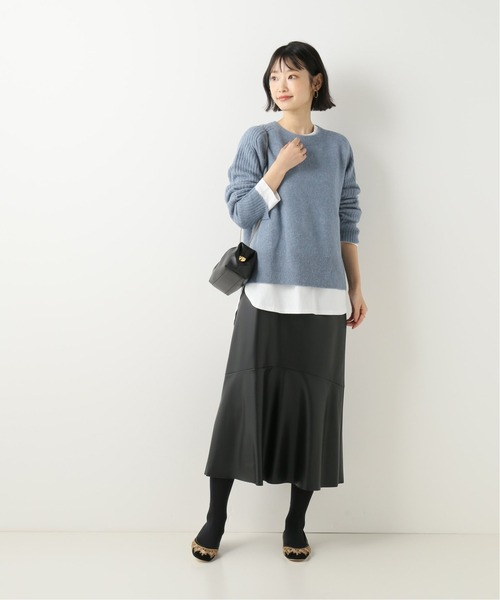 [IENA] 【BY MALENE BIRGER/バイ マレーネ ビルガー】ALPACA DESIGN SLEEVE ニット◆